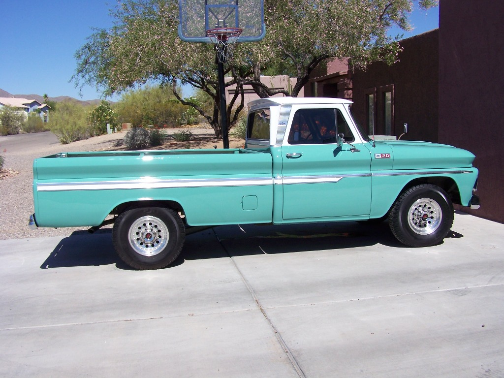chevy truck 1965 - photo #8