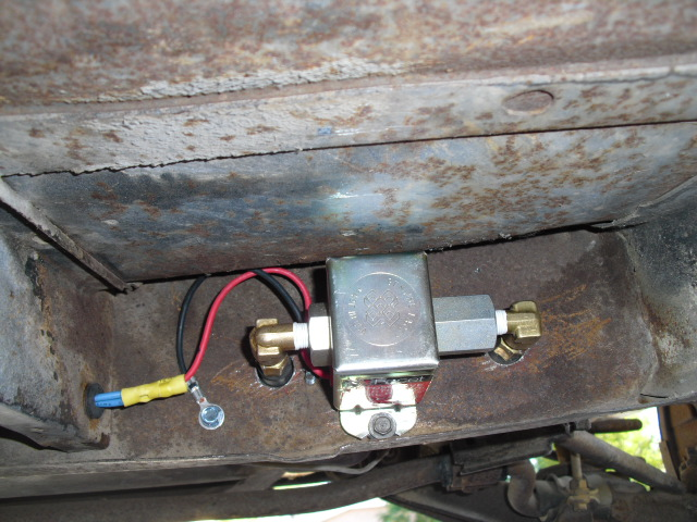 FacetInstall corvair electric fuel pump GM Fuel Pump Wiring Diagram at gsmportal.co
